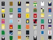 Posters Minimalistes super-heros