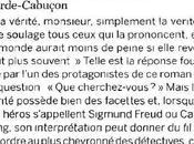 Critiques Détective Freud