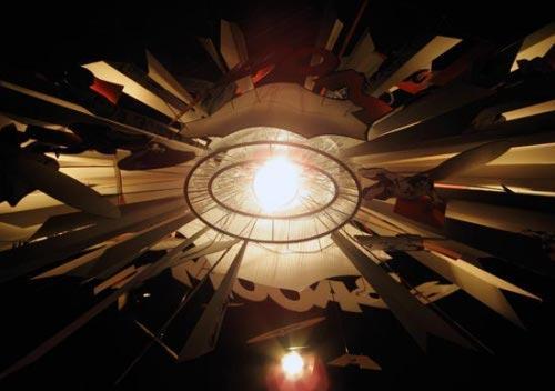 lampe big bang par ingo maurer paperblog. Black Bedroom Furniture Sets. Home Design Ideas