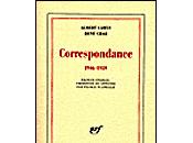 Albert Camus René Char Correspondance 1946-1959