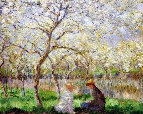 Au printemps au printemps et mon cœur et ton cœur sont repeints au