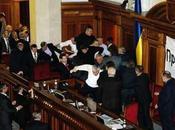 Bagarre Parlement ukrainien