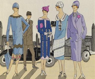 Retour la mode des ann es 1930 paperblog - Mode annee 20 ...