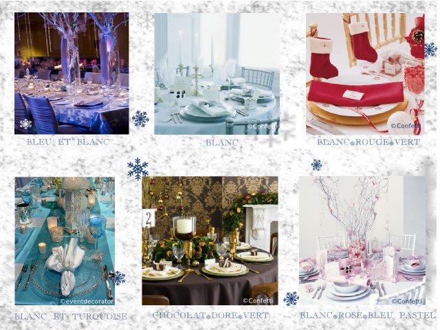 decoration mariage theme hiver
