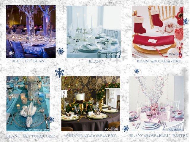 décoration mariage idées thème hiver montagne couleurs blanchocolat ...