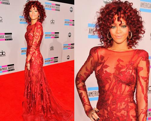beaute buzz rihanna red hair cheveux rouge coloration - Coloration Cheveux Rouge Violet