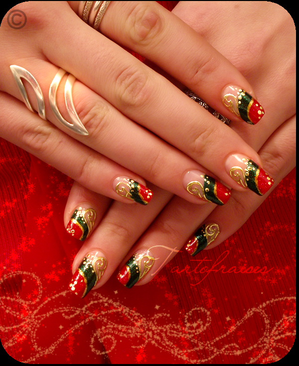 Nails design noel beautify themselves with sweet nails nails design noel prinsesfo Gallery