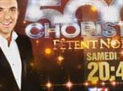 Nikos Aliagas Choristes tête audiences