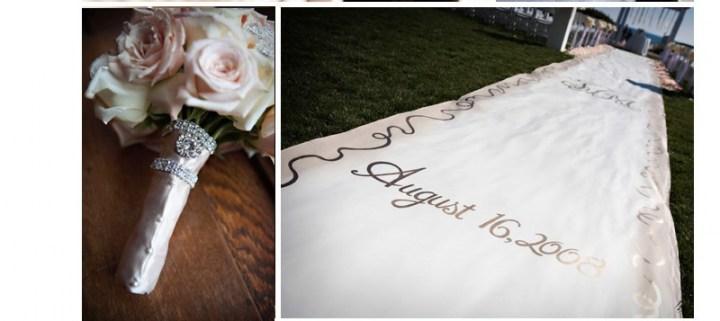 6 d tails tendances pour l glise ou la c r monie de mariage voir - Tapis personnalise mariage ...
