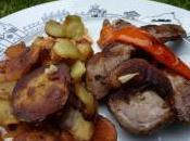 Aiguillettes canard piment doux basque