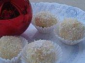 Brigadeiros coco boules