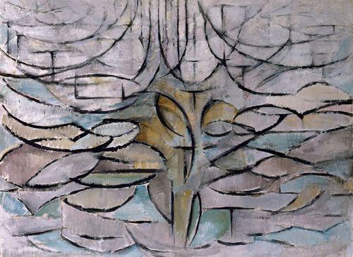 Piet mondrian l 39 artiste qui aimait peindre les arbres by stefania paperblog - L arbre le pommier ...