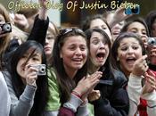 Justin Bieber fans hystériques