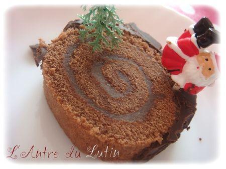 B che de no l 2010 chocolat marron d couvrir for Buche de noel chocolat marron
