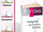 L'intégrale dictionnaires Bordas Iphone