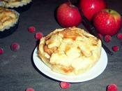 Mini apple-cranberry pies super vanillées