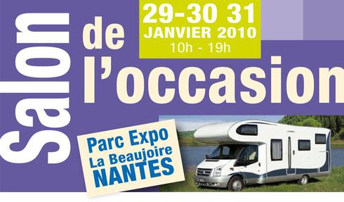 Planning des salons de camping cars occasion et neuf for Salon camping car nantes