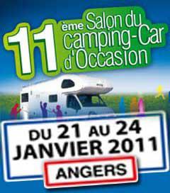 Planning des salons de camping cars occasion et neuf for Salon du camping car angers