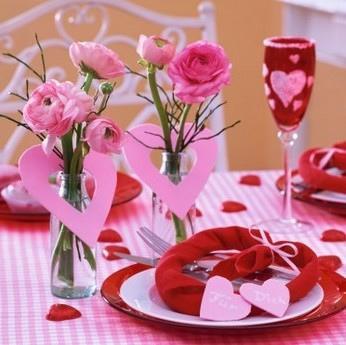 D coration de table de st valentin voir - Table de saint valentin ...