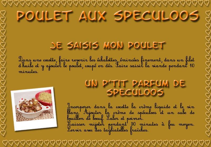 """RECETTE - """"Poulet aux spéculoos"""" - Paperblog"""