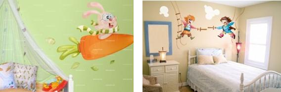 stickers muraux pour chambre d enfants paperblog. Black Bedroom Furniture Sets. Home Design Ideas
