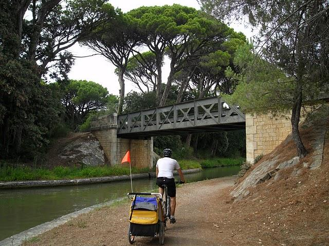 Le Canal du midi en famille… et en vélo s'il vous plait!