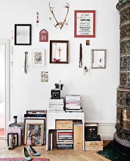 Un mur de tableaux lire - Faire un mur de tableaux ...