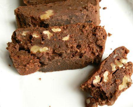 brownie sans gluten sans beurre la pomme de terre et sucanat paperblog. Black Bedroom Furniture Sets. Home Design Ideas