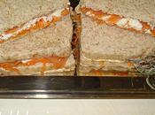 Sandwichs roses blancs ....!