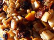 Courge butternut farçie cèpes tomates séchées