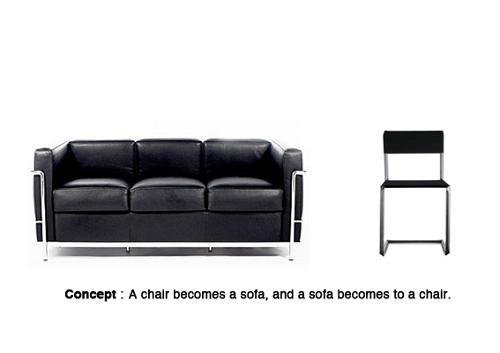 Sofa extensible par yuya ushida d couvrir - Sofa extensible ...