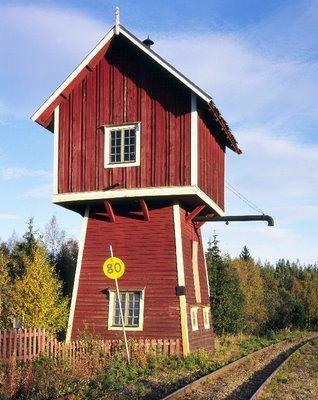 Les maisons rouges su doises l histoire d une couleur for Maison suedoise en bois