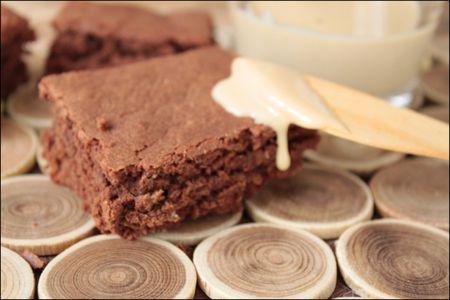 Gâteau au chocolat et à la purée d'amandes
