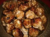 Boulettes poulet pistaches