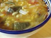 Soupe épaisse blettes flageolets