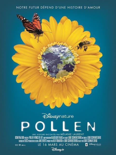 Pollen, le film de Disney qui raconte la planète des fleurs