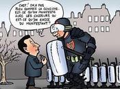 Violences gendarmes Nous formés, Alors nous taper