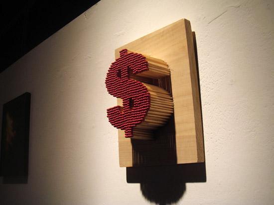 Sculptures allumettes