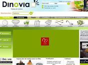 Nouveau Design printemps 2011 pour Dinovia. vaisselle jetable renouveau nature