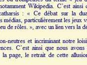 FFJDR défend l'image rôle Wikipédia