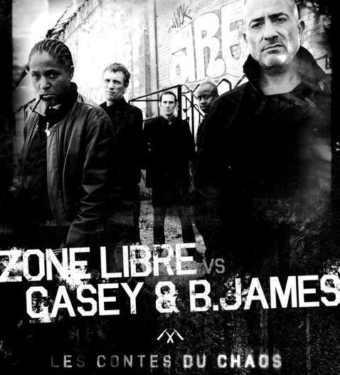 Zone libre vs casey &; b. james au nouveau casino le 30 mars