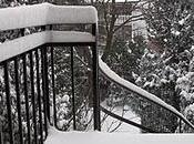 Encore belles chutes neige...