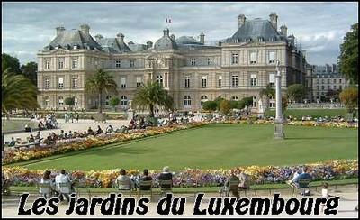 Le jardin du luxembourg paperblog - Joe dassin le jardin du luxembourg ...