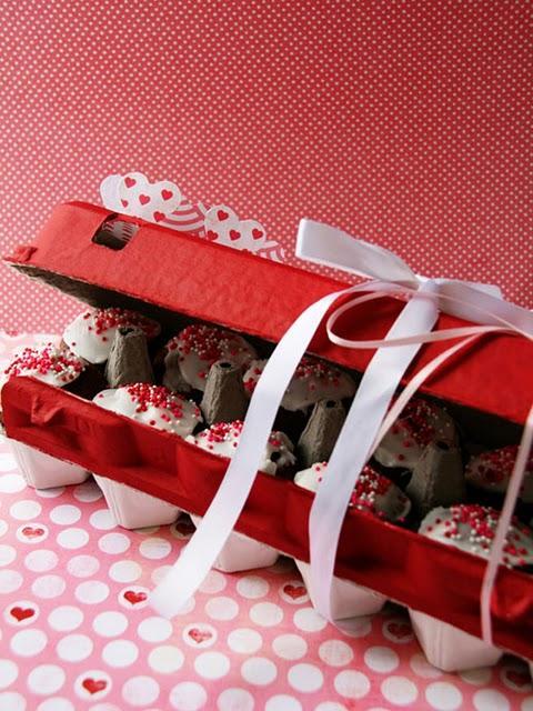 Boite de mini-cupcakes pour la St-Valentin!
