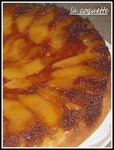 Gateau aux pommes caramelisees facile
