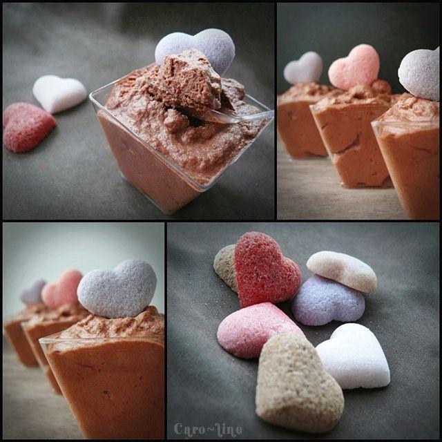 Mousse au chocolat noir et caramel au beurre sal recette for Mousse au chocolat pierre herme