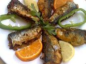 Sardines merlans frits