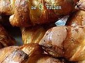 Petits croissants chocolat C.Felder Chocolatines