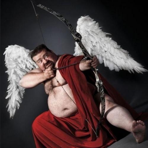 Eros cupidon dieu de l'amour