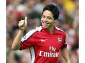 Nasri sens bien Arsenal